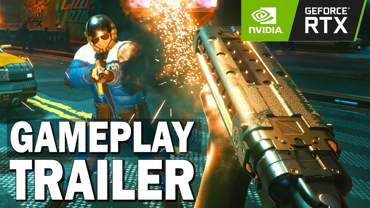 CYBERPUNK 2077 : GeForce RTX, Ray Tracing et DLSS Bande Annonce (2020)