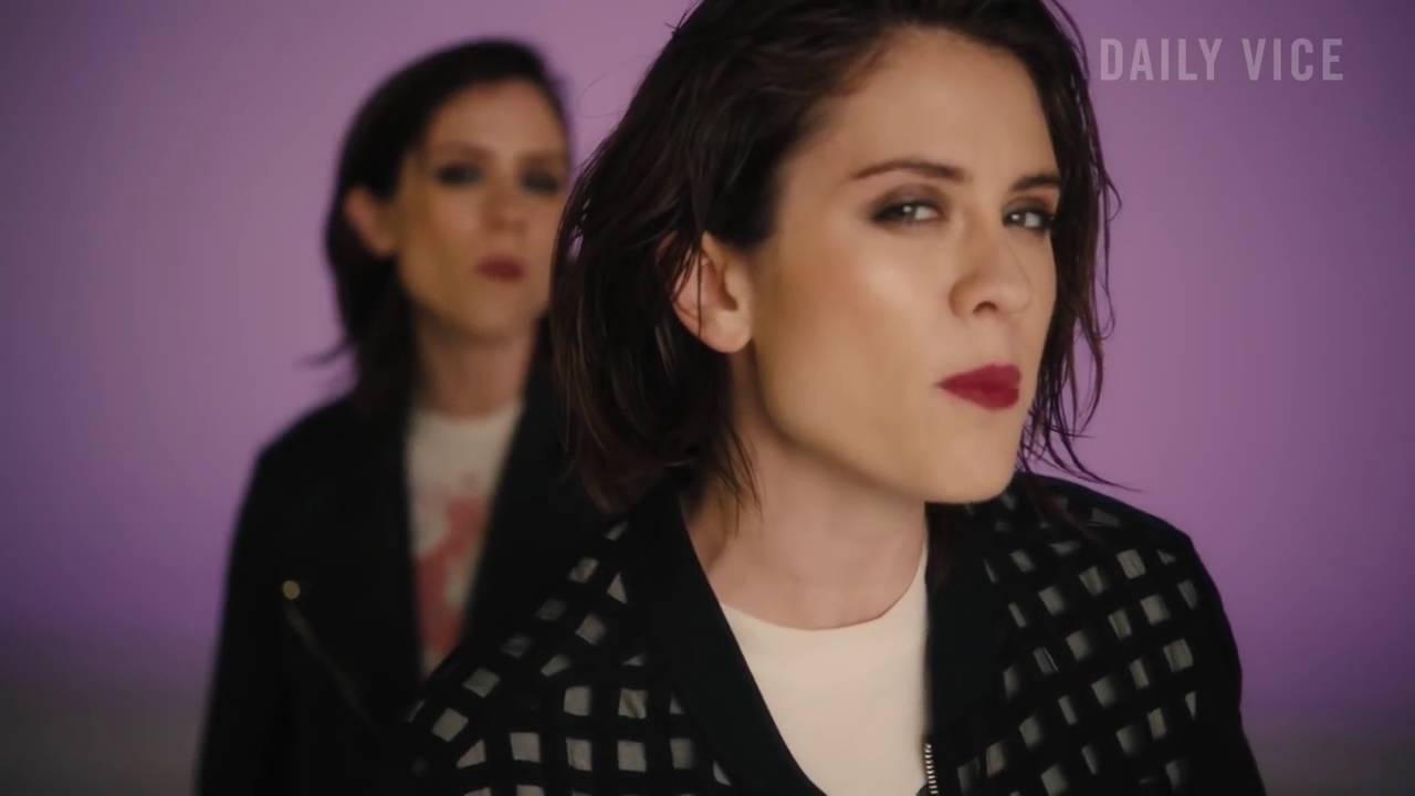 Tegan And Sara Talk Love And White Weddings At A Cat Cafe Youtube