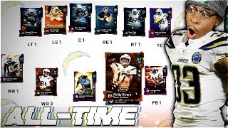 ALL-TIME CHARGERS THEMED TEAM! Madden 19 Ultimate Team