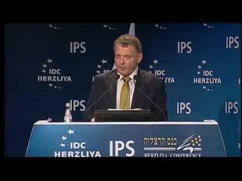 Hon. Lubomír Zaorálek, Foreign Minister of the Czech Republic, at the 15th Annual Herzliya Conf