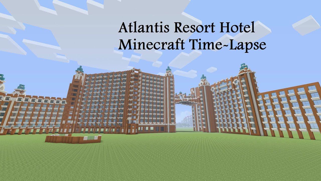how to build atlantis in minecraft
