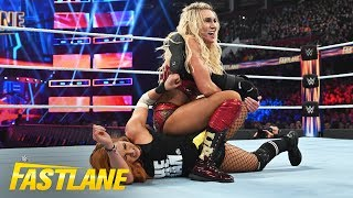Charlotte Flair shows no remorse against Becky Lynch: WWE Fastlane 2019 (WWE Network Exclusive)