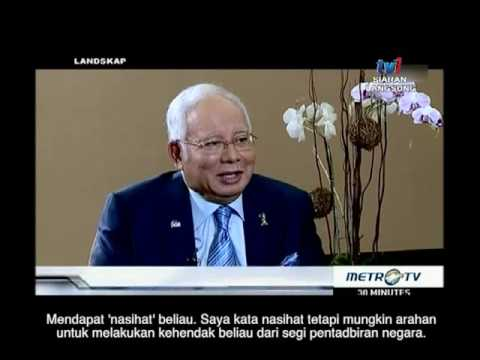 Temubual bersama MetroTV Indonesia, 3 Ogos 2016
