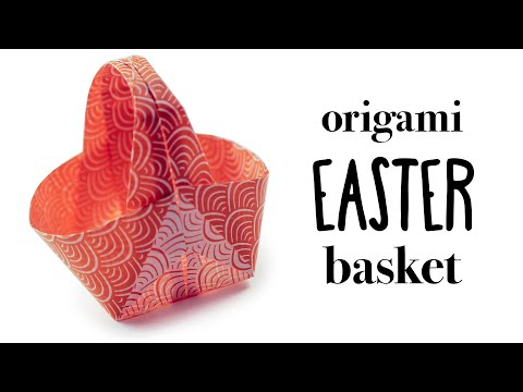 3D Origami Paper Egg for Easter ♡ Awesome Clear Tutorial - YouTube | 360x480