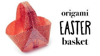 Origami Easter Basket Tutorial ♥︎ DIY ♥︎