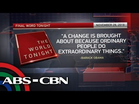 The World Tonight: The Final Word | November 28, 2018