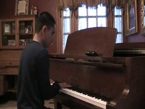 15 Year Old Kuha'o Blind Piano Prodigy Plays Freestylers - Cracks (Flux Pavillion Remix)
