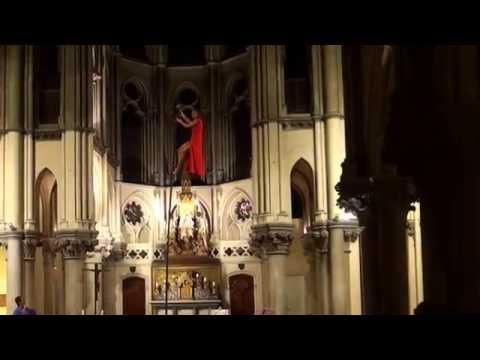 Marie-Anne  Michel Danse verticale  / Sylvain Millepied Flute