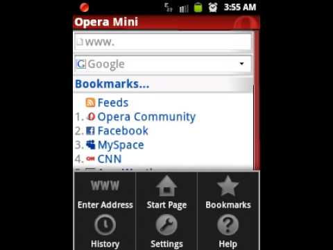 Opera mini for android 2 3