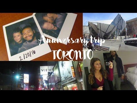 Anniversary trip to Toronto - LexiAndLee Vlogs