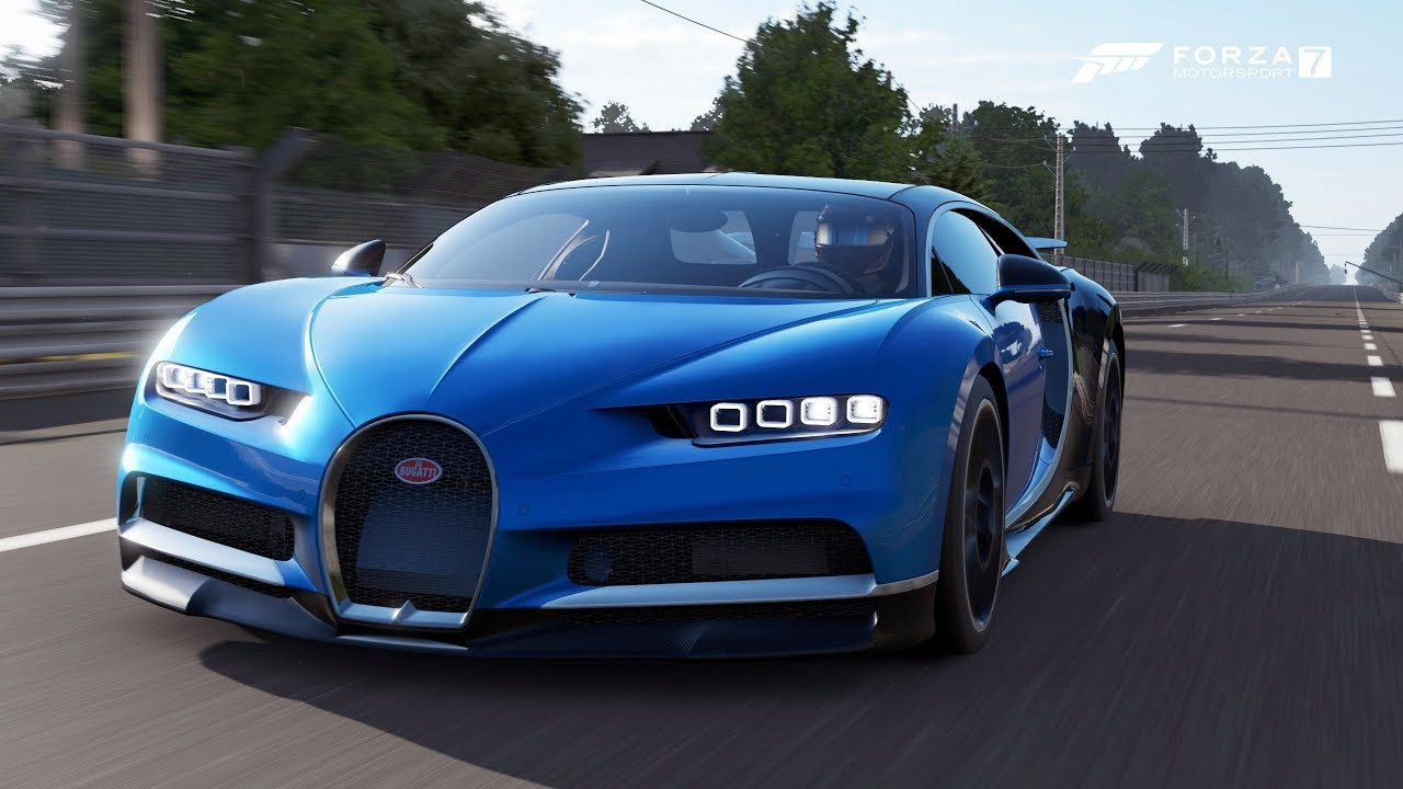Forza Motorsport 7 Bugatti Chiron 2018 Gameplay