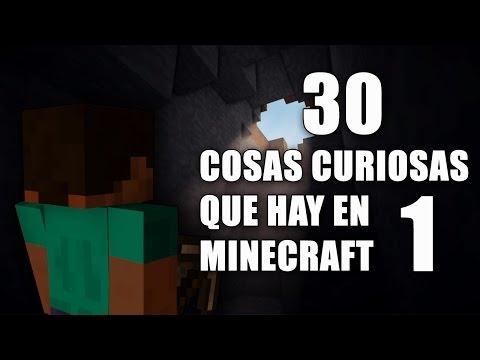 30 Cosas Curiosas Que Hay En Minecraft - Parte 1