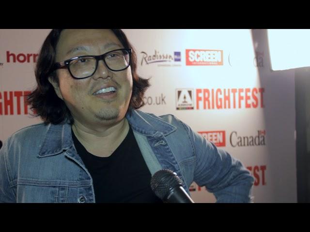 BODIED Director JOSEPH KAHN On The Frightfest Red Carpet