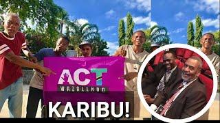 JINSI MAALIM SEIF ALIVYO POKELEWA ACT WAZALENDO! NI PIGO KWA CUF!