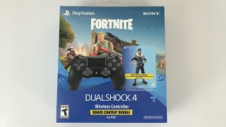 Fortnite Bomber Skin PS4 Controller Bundle Unboxing