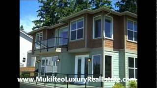 Mukilteo Real Estate - Custom Home With Sound & Mountain Views