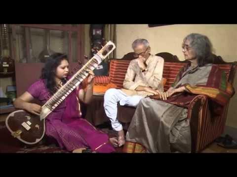 Sahana Banerjee, sitar players of India : Srijan TV  Part 1