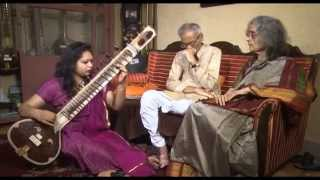 Sahana Banerjee, sitar players of India : Srijan TV  Part 1