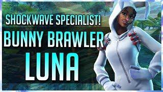 FORTNITE STW: BUNNY BRAWLER LUNA GAMEPLAY OVERVIEW!