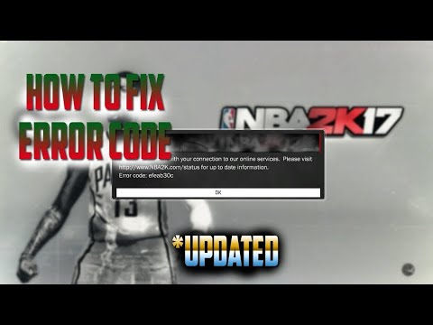 NBA 2K17 How To Connect To The Servers