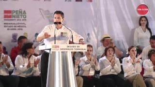 Peña Nieto - Resumen del Discurso en Nezahualcóyotl, Estado de México