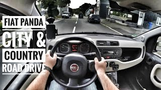 Fiat Panda 1.2 (2015) | POV City & Country Road Drive (60FPS)