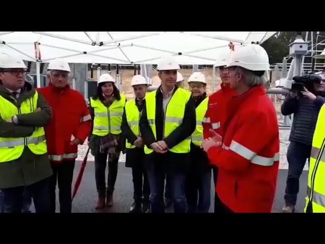 Viesgo inaugura la subestación de Ribadeo