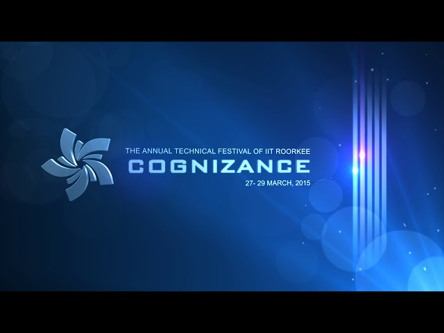 Cognizance, IIT Roorkee 2015 | Official Aftermovie