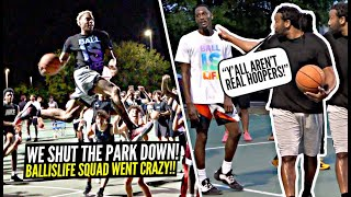 """YOU AREN'T REAL HOOPERS!"" 