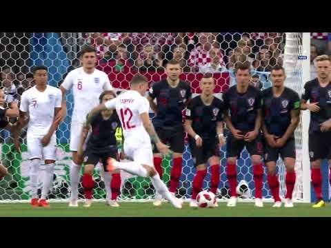 ¡GOL DE TIRO LIBRE! | Croacia vs Inglaterra