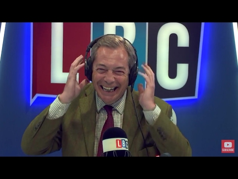 The Nigel Farage Show: Tony Blair. Live LBC - 1st May 2017
