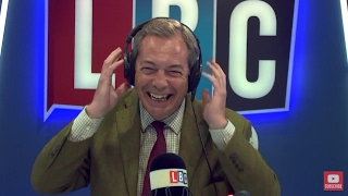 The Nigel Farage Show: Tony Blair. Live LBC - 1st May 2017