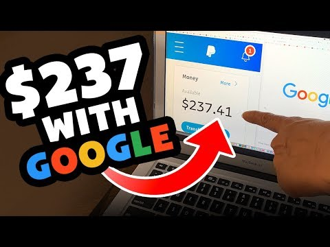 Earn $237 With Google *WEIRD TRICK* Automated PayPal Money Online