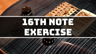DO YOU NEED TO GET BETTER AT 16TH NOTES ON GUITAR? This guitar exercise will help you achieve that.