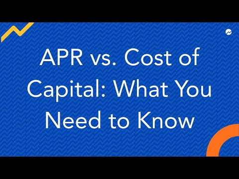 APR vs Cost of Capital
