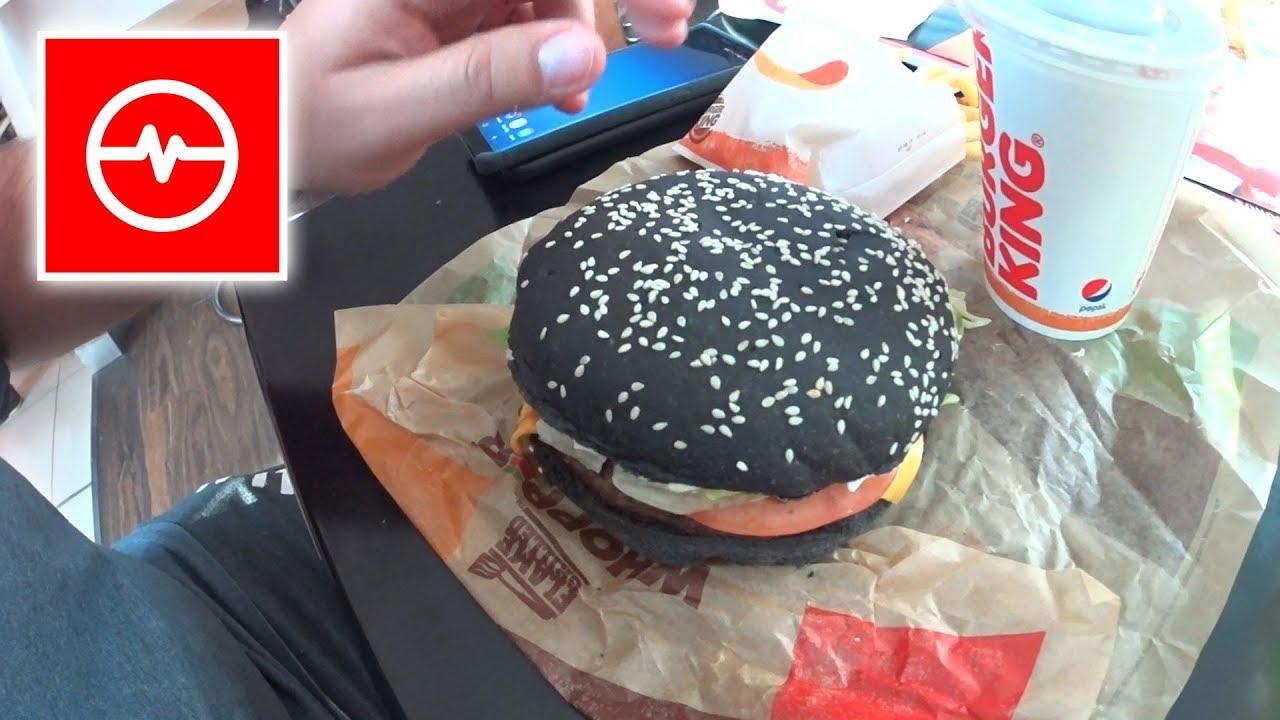 Czarny Whopper z Burger King
