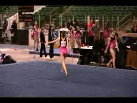 Sydnie Dillard Kurt Thomas Finals Level 10 Floor 2008