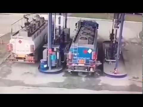 Взрыв на нефтебазе под Челябинском.