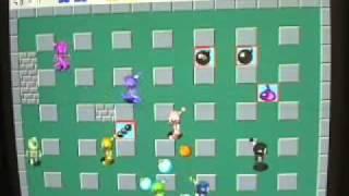 Atomic Bomberman Gameplay