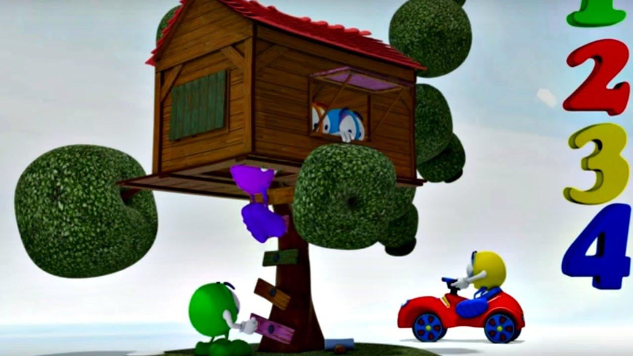 ağaç ev çizgi film ile ilgili görsel sonucu