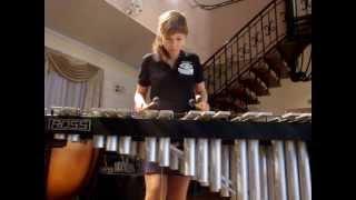 Amazing improvisation on the Vibraphone by Nastya Maslova
