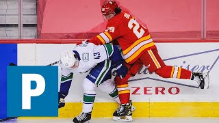Vancouver Canucks defenceman Quinn Hughes on shutout loss to Calgary Flames   The Province