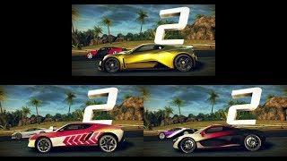 Asphalt 8: Zenvo ST1 vs. Lamborghini Asterion vs. McLaren P1
