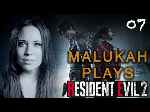 Malukah Plays Resident Evil 2 - Ep. 7