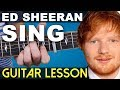 How to play | SING on guitar | SUPER EASY (Ed Sheeran)