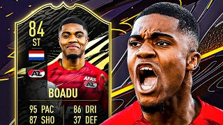 THIS CARD IS INSANE! 🤯 84 INFORM BOADU PLAYER REVIEW! - FIFA 21 Ultimate Team