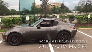Reviewing the 2017 Mazda MX-5 RF