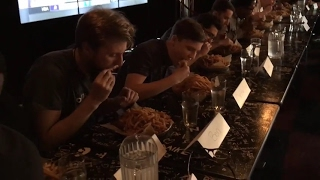 HopCat Detroit crack fries eating contest - first minute