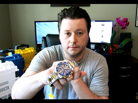 Invicta 1773 Pro Diver Watch Review Stainless Steel Two-Tone Gold