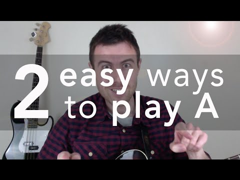 Easy Ways to Play the A Chord on Guitar